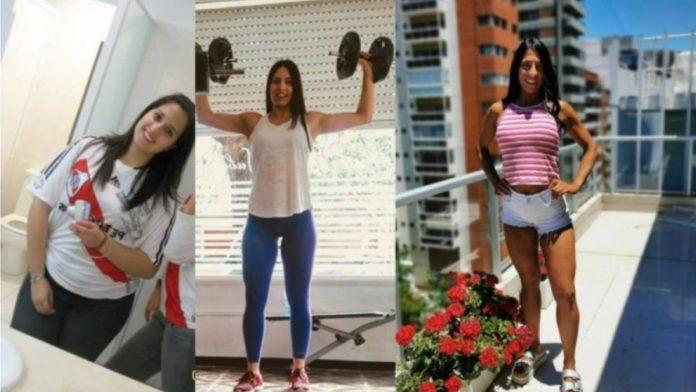 Tras padecer bulimia y anorexia, Daiana gana medallas fitness