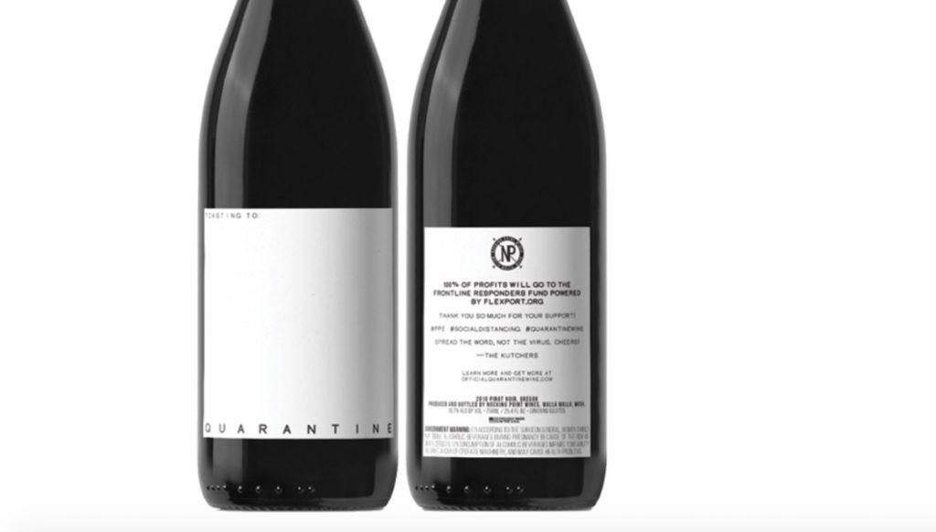 Quarantine 21 octubre 2020 Mila Kunis y Ashton Kutcher crean Vino de Cuarentena