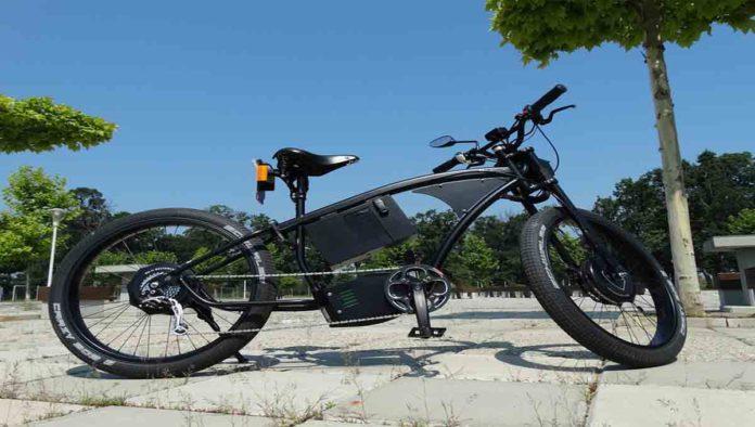 La bicicleta eléctrica Greyp G12S de Gerard Piqué