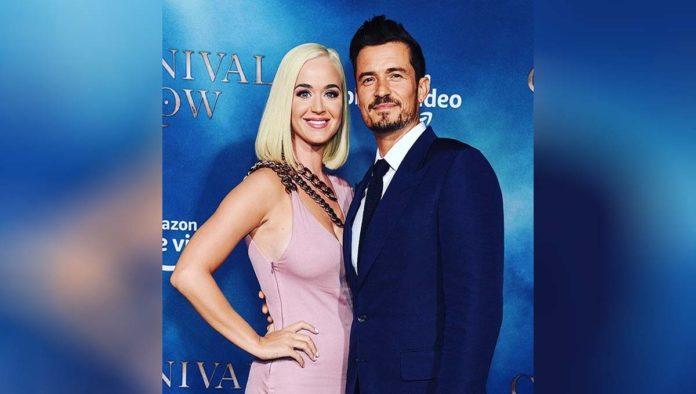 Así luce la primera foto de la hija de Katy Perry y Orlando Bloom