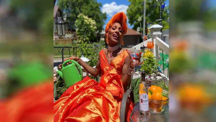 Jaida Essence Hall, la drag queen que conquistó la portada de Attitude