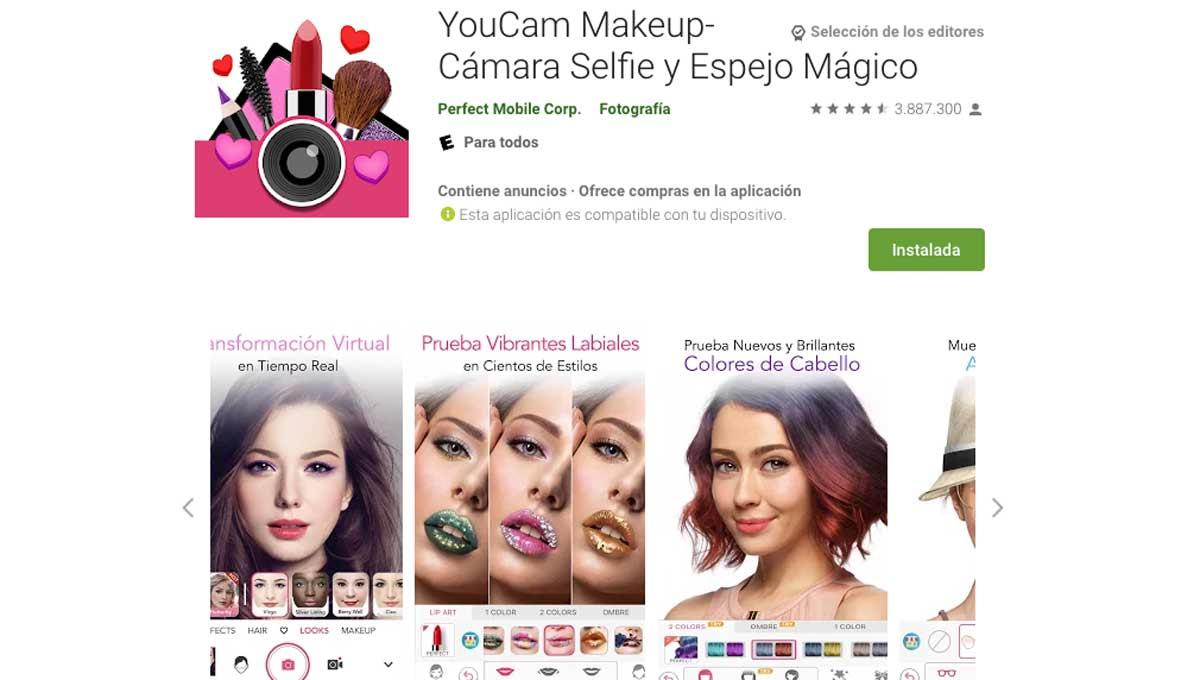 you cam 31 octubre 2020 3 Apps para experimentar un cambio de look
