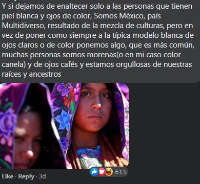 Revista Chiapas recibe críticas por contratar a modelo de tez blanca