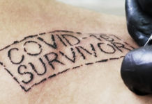 """COVID-19 survivor"": tatuajes para sobrevivientes de coronavirus"