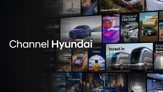 Channel Hyundai se instala en tu Smart TV