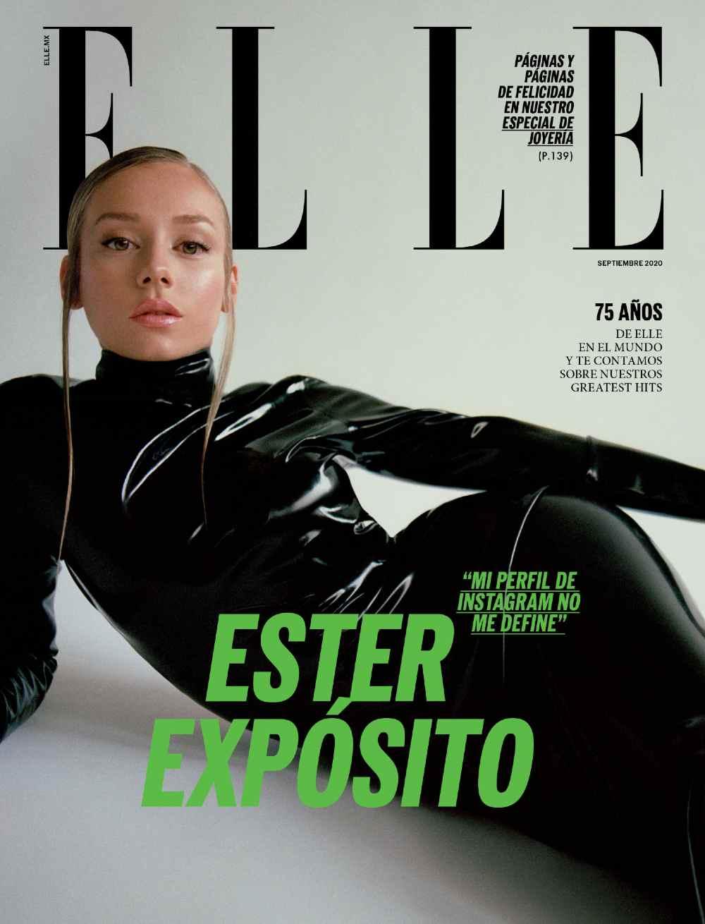 Ester Expósito llega a la portada de Elle