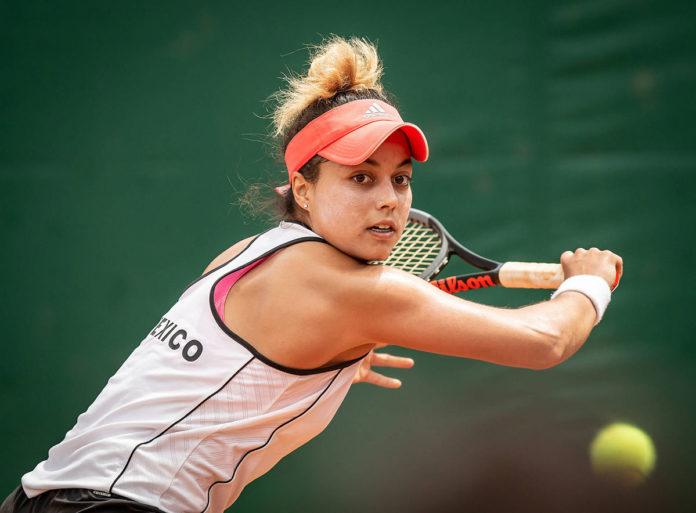 Renata Zarazua Tenista Mexicana