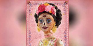 Esta la nueva Barbie Catrina edición Día de Muertos 2020
