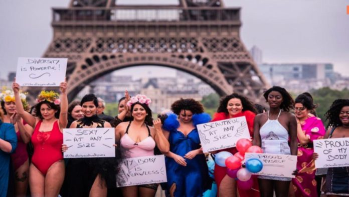 Body Positive: exigen en París cuerpos diversos en la moda