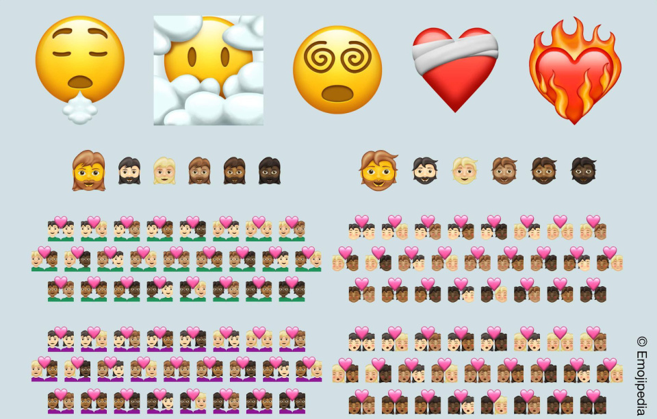 Conoce los más de 200 emojis que llegarán en 2021