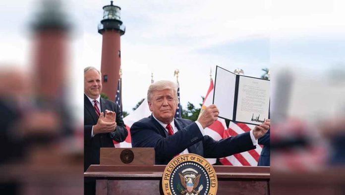 Sí, Donald Trump compite por el Nobel de la Paz