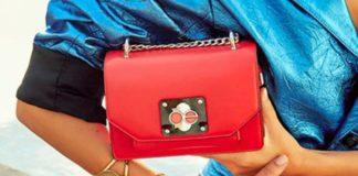 El rojo es tendencia en bolsos