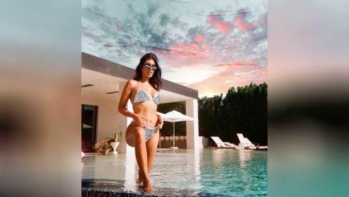 Pasa un día de selfcare con Kourtney Kardashian