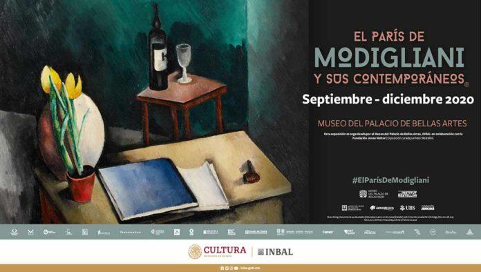 Disfruta de El París de Modigliani y sus contemporáneos en Bellas Artes