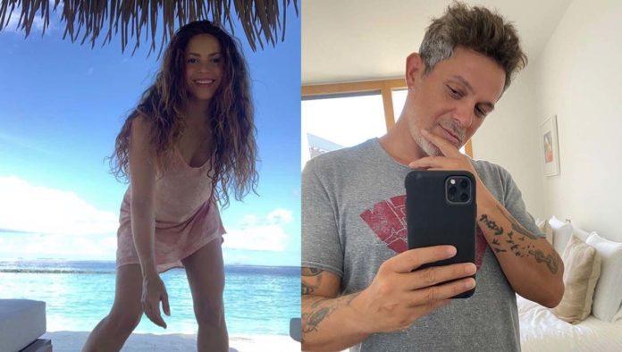 ¿No que no? Revelan video donde Shakira y Alejandro Sanz se coquetean
