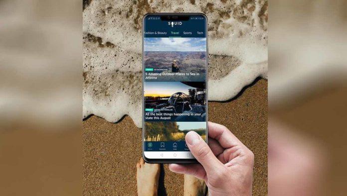 Squid se une con Huawei para llevarte las mejores noticias