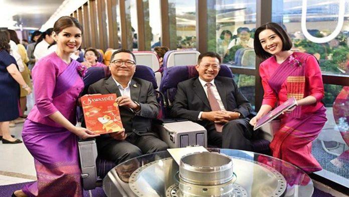 Thai Airways, la aerolínea que se volvió restaurante