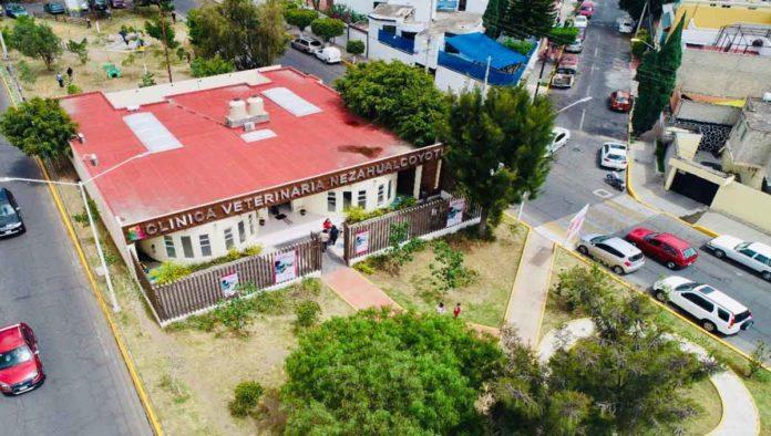 Inauguran primera clínica veterinaria de Nezahualcóyotl