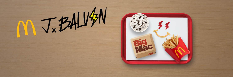 Combo de J Balvin en McDonald's