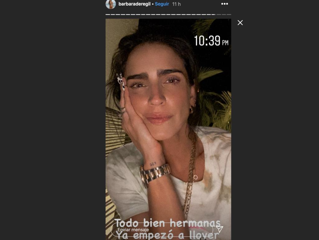 Captura de pantalla 2020 10 07 a las 10.11.32 a. m. 31 octubre 2020 Bárbara de Regil quedó atrapada en Tulum, Quintana Roo por huracán Delta
