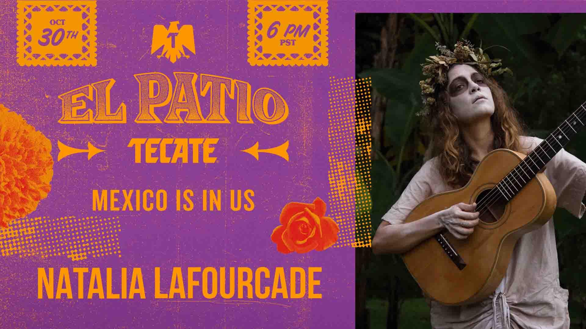 Disfruta gratis el concierto de Natalia Lafourcade