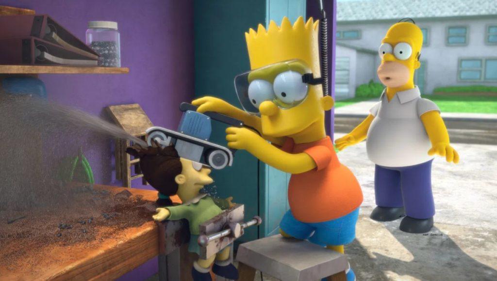 bart casita de terror simpson 27 octubre 2020 La casita del horror de Los Simpson parodiará Toy Story y Spider-Man