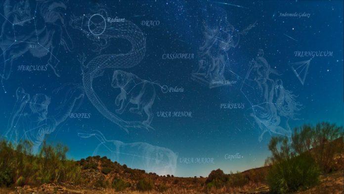 Cómo ver la lluvia de estrellas Dracónidas