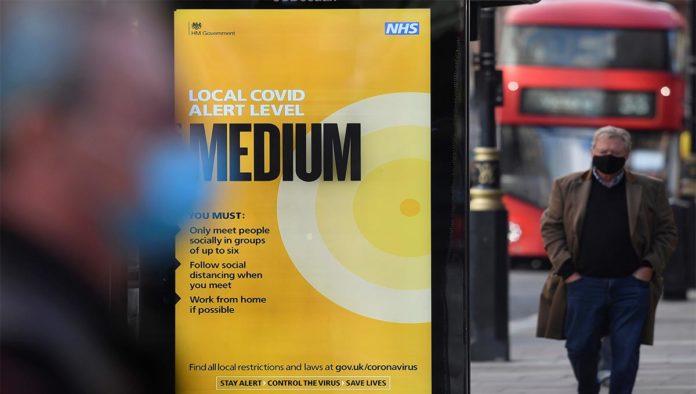 """""""Las cosas empeorarán"""": Londres en alerta roja otra vez por COVID-19"""