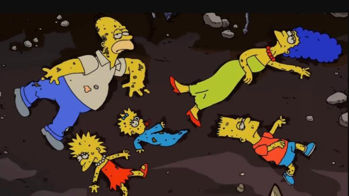 Casita del Horror de Los Simpson en la CDMX
