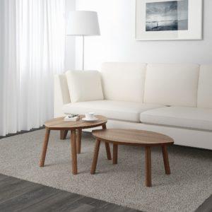 stockholm set de 2 mesas chapa nogal  0837170 PE601372 S5 27 octubre 2020 Los mejores productos de IKEA ya disponibles en la tienda en linea para México