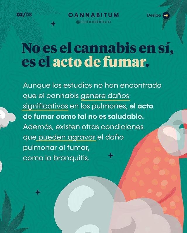 El daño que provoca fumar cannabis