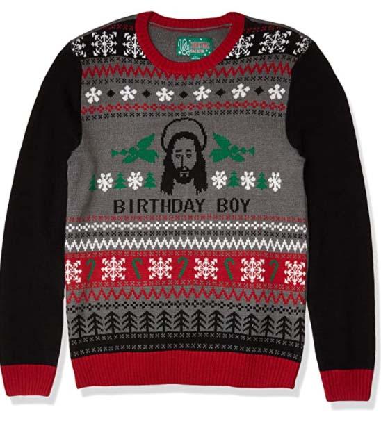 Ugly sweter de Jesus 21 abril 2021 Los mejores ugly sweaters de Navidad para este 2020