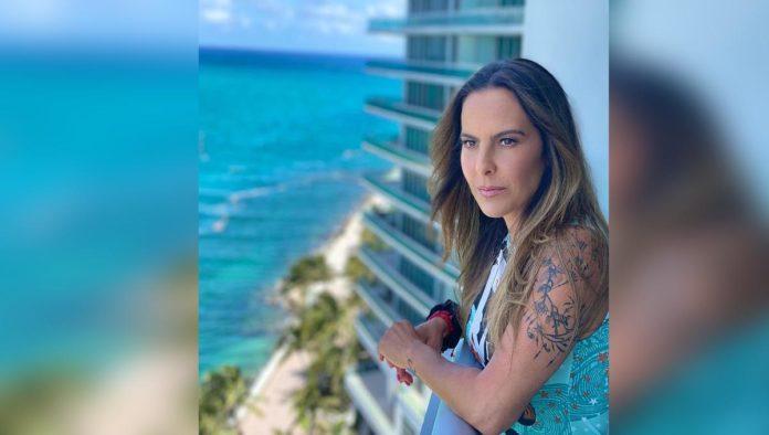 Kate del Castillo habla sobre violencia que vivió con Luis García