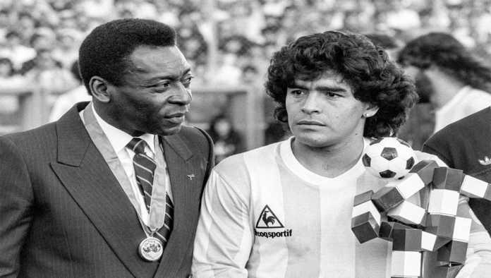 Pelé se suma a los mensajes de despedida para Maradona