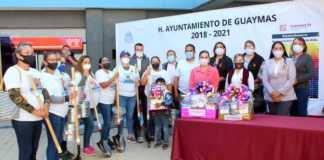 Alcaldesa de Guaymas responde a entrega de palas a madres de desaparecidos