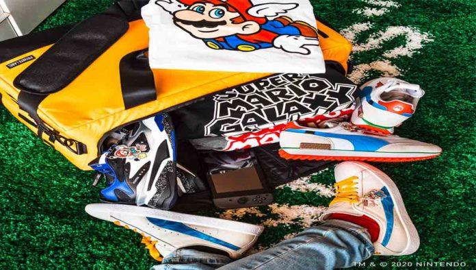Puma lanza colección de tenis inspirada en Mario Bros