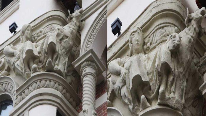 Una más a la colección: se vuelve viral la pésima restauración de una escultura