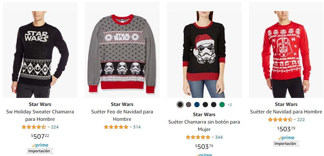 uglysweaters de Star Wars 21 abril 2021 Los mejores ugly sweaters de Navidad para este 2020
