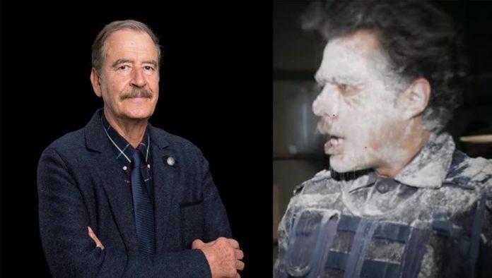 """Vicente Fox participa en sketch de los creadores del video """"Harina"""""""