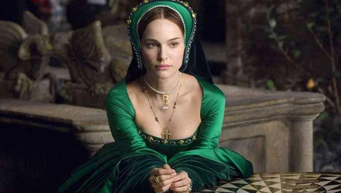 Ana Bolena interpretada por Natalie Portman