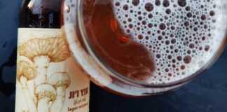 Cerveza artesanal con hongo