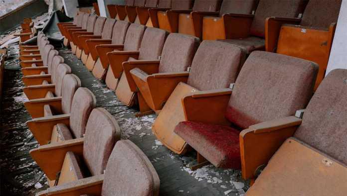 Cae 96% la asistencia a cines en México durante 2020
