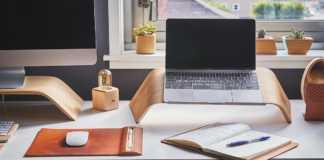 Un escritorio para realizar home office