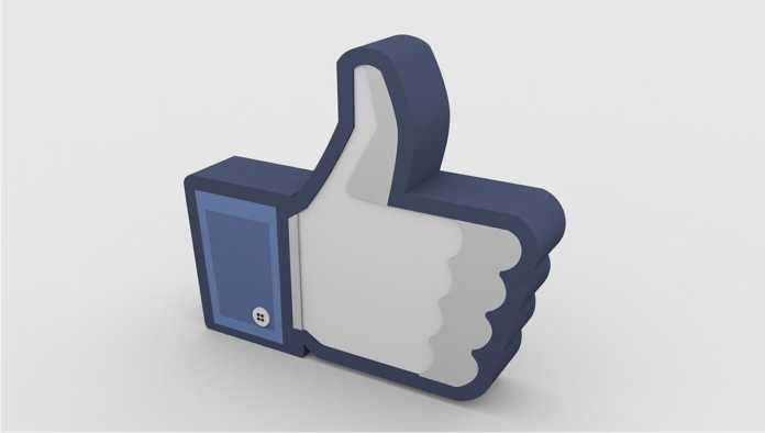 Logo de Me Gusta de Facebook