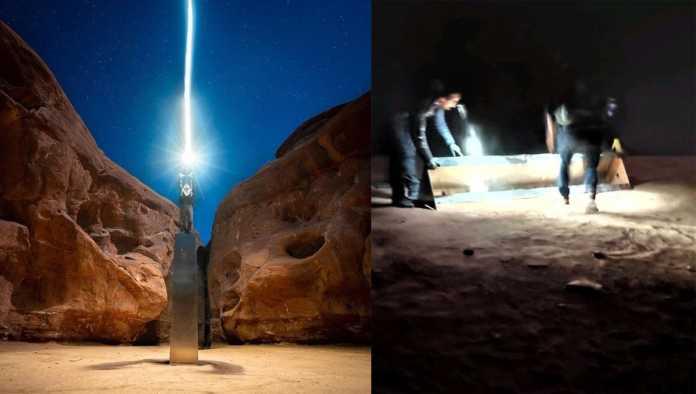 Misterio resuelto: revelan qué pasó con el monolito de metal de Utah