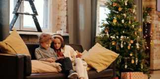 Niños Navidad COVID-19