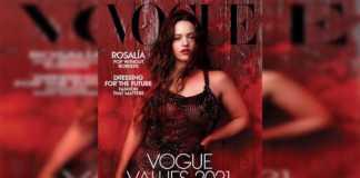Portada de Vogue con Rosalía