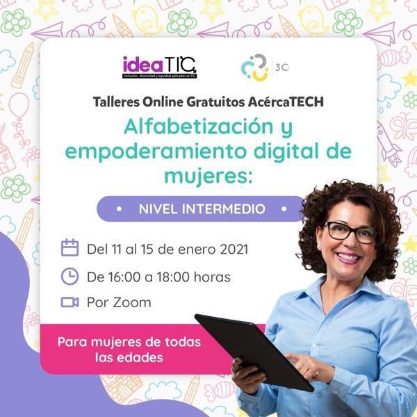Imagen del taller de empoderamiento digital