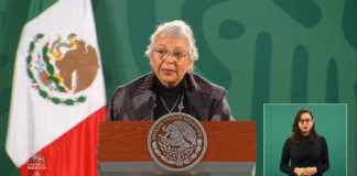 Olga Sánchez Cordero en la matutina