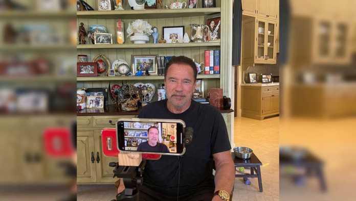 El actor Arnold Schwarzenegger